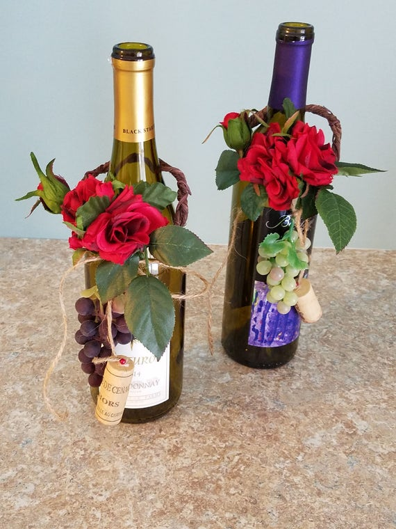 wine bottle decorations for wedding italian event wine bottle toppers decoration amorebride 1429