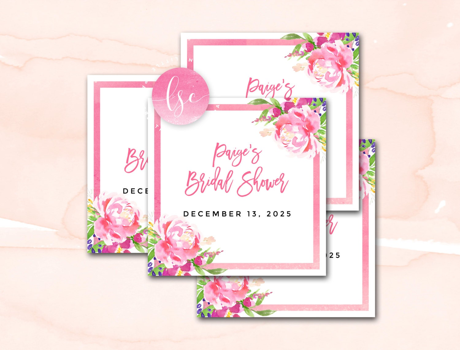 Free Printable Wedding Gift Tags: Bridal Shower Favor Tags Printable Favor Tags Wedding Shower