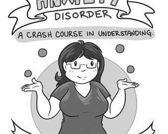 Anxiety! A Crash Course in Understanding mini comic zine