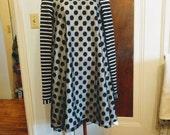 Sasha Swing Dress in 'darling dots' made to order