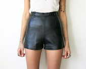 Leather Hot Pants XS