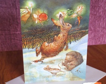 Greeting Card - The Christmas Carrot -