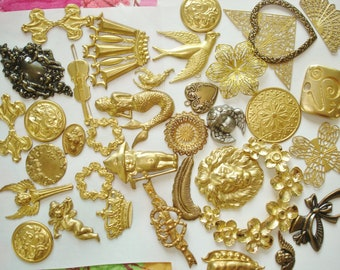 Jewelry Findings Lot 35 Plus items