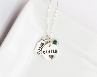 Mothers Day Gift for Wife - First Mothers Day Gift - New Mom Necklace - Push Present - Personalized New Mom Gift - Baby Shower Gift for Mom
