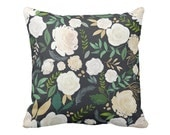 Pillow Cover Easter Floral in Slate