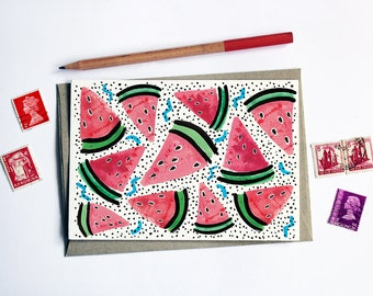 Fruity Melon Card