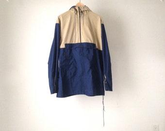 vintage men's 90s PARKA pacific northwest HOODED jacket coat