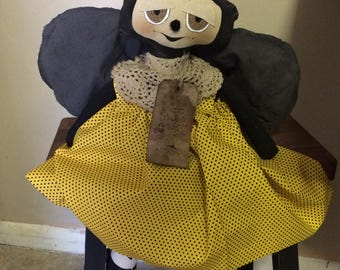 Primitive Bumble Bee Doll