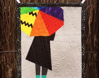 Singing in the Rain Wall Hanging