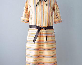 1930s Day Dress...Vintage 30s Day Dress
