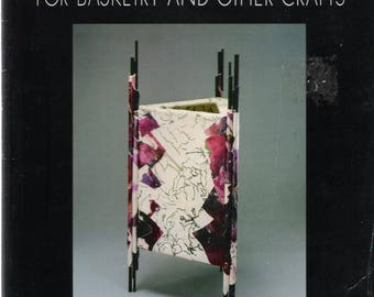 PAPERMAKING for Basketry and Other Crafts, Fibre Arts,