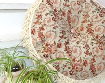 Floor Cushion | Moroccan Floor Cushion |Floor Pillow | Tassel Floor Cushion |