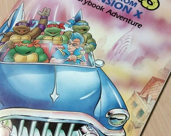 TMNT Escape from Dimension X Storybook Adventure