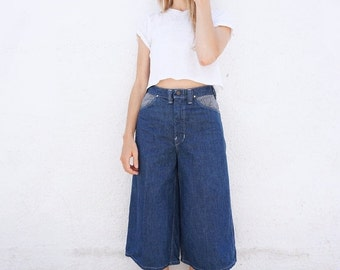 Coolots Skort Jeans Denim High Waist sz. 26.5