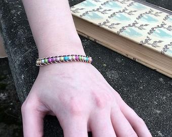 Multicolor Wrap Bracelet Beaded Colorful Jewelry Boho Party Friendship Bracelet