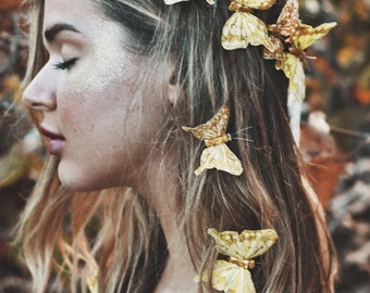 Gold Rush Fairy Crown