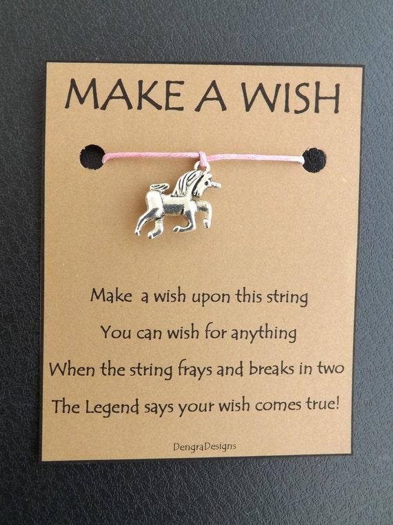 Unicorn Wish String