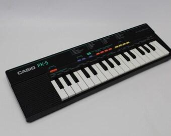 Casio PK-5 – Keyboard / synthesizer – working 100%
