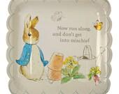 Peter Rabbit Paper Plates by Meri Meri | Beatrix Potter Party | Peter Rabbit Birthday | Peter Rabbit Baby Shower