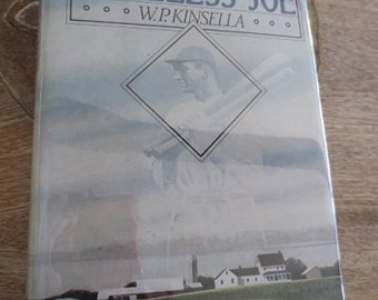 SHOELESS JOE Vintage Book W.P. Kinsella 1982 First Ed. Field of Dreams Baseball Novel