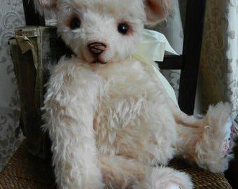 "Rosie - handmade OOAK mohair artist bear -14.5"""