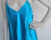Silk Chemise Vintage Victoria's Secret Large Nightgown Wedding Bridal  NOS