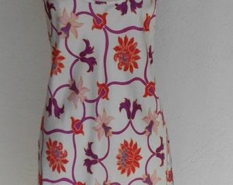 Vintage Satin Nightgown Chemise Natori Medium Neiman Marcus