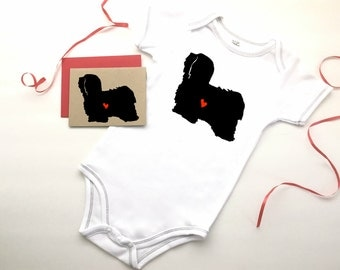 Havanese Baby Bodysuit Organic Infant Clothes % to ANIMAL RESCUE Clothing Eco Friendly Jumper Romper Snapsuit One Piece Gift 3-6 mo, 9-12 mo
