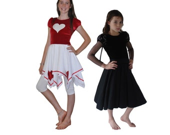 Storybook Dresses pdf sewing pattern girls sizes 1-14 years