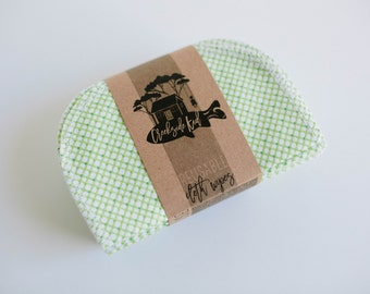 Baby Wipes - Set of 20 -  Double Layer  ( Green )