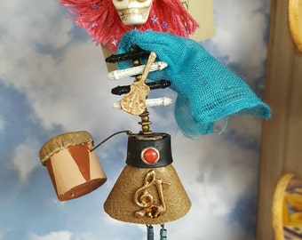 Day of the Dead Funky Beatnik Ornament