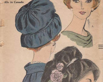 Vintage Hat Pattern Vogue 5109 Uncut