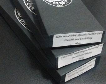 Harry Potter Wand Box- Custom Harry Potter Wands, Wedding, Birthday, Event Favors, Makarios Wand Shop