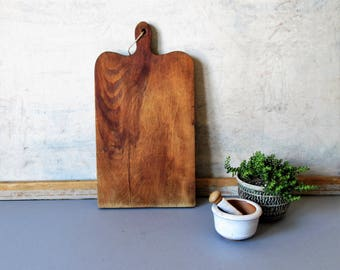 Wooden chopping board, farmhouse cutting board, rustic serving board, cheese board, kitchen decor