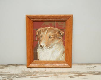 Collie Sheltie Painting PBN