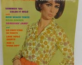 Vintage McCall's Pattern Fashions and Home Decorating Spring Summer 1966