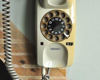 VINTAGE rotary DIAL Matsushita VL-209/National/Panasonic Data Phone 24 channel