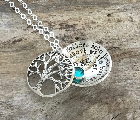 Tree Necklace, Tree Locket, Family Tree Locket, Tree of Life Necklace, Tree of Life Jewelry, Tree Jewelry, Leaf Necklace, Sterling Silver