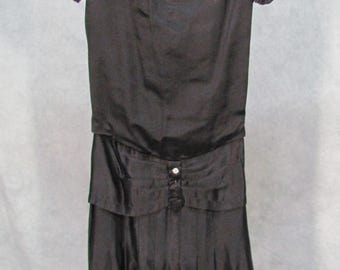 1920s Dress Flapper Speakeasy Gatsby Dress Downtown Abbey Size XS