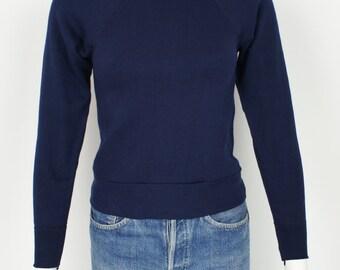 Vintage 1970's Deadstock Raglan Sweatshirt size XS/ Youth Medium