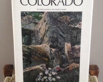 SALE! beautiful large Colorado coffee table book 1970'S