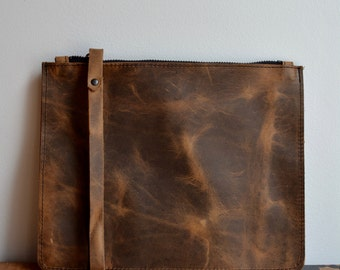 Old Western clutch pouch