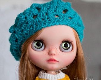 Blythe beret - blue