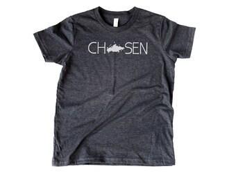 YOUTH Chosen Russia Soft T-shirt | International Adoption | Russian Adoption | Adopt | Adoption Shower | Over Seas | Adoption Gifts