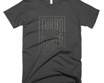 Turbo Graphx 16 Black Logo T Shirt NEC Classic Console Tee