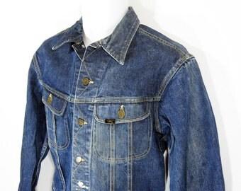 Vintage Lee 101-J Denim Jacket Sz.40 1960's
