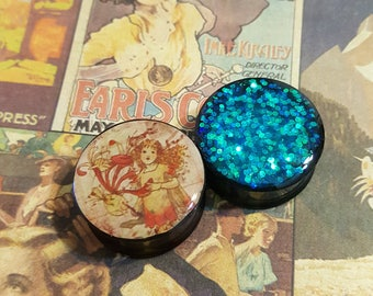 Fairy Plugs sizes 2g - 2 Inches Double Flare