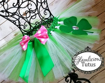 St. Patrick's day tutu| Irish tutu tutu| St. Patty tutu | newborn- Adult listing|
