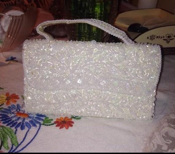 Vintage Du Barry Beaded Evening Bag