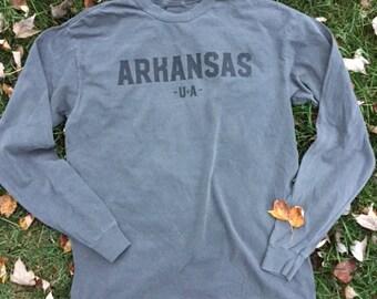 Arkansas Long Sleeve Adult Tee
